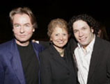 l r  dudamel with salonen and
